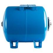 Расширительный бак, гидроаккумулятор 80 л. горизонтальный (цвет синий)
