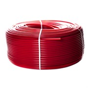 Труба из сшитого полиэтилена PEX-a, красная 16х2,0 (бухта 200 метров)