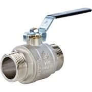 SVB-0005-000015 STOUT Кран шаровой полнопроходной, НР/НР, ручка рычаг 1/2