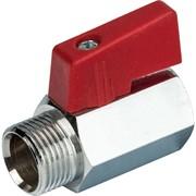 SVB-0022-000020 STOUT 3/4 Кран шаровой мини, муфта/резьба