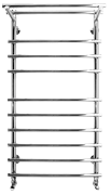 Полотенцесушитель водяной из нержавеющей  стали  Terminus Ватра с полкой 32/20 П10 6-3-1
