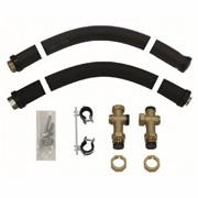 Комплект присоединительных труб для монтажа на стене