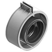 SCA-6010-000002 STOUT для соединеия труб DN60/100, м/м соед. муфта с уплотнен,хомут с муфтой EPDM в комплекте.(с лого.)