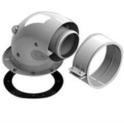 DN60/100 адаптер для котла угловой 90° коаксиальный (совместимый с Bosch, Buderus)(с логотипом)