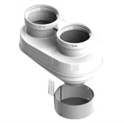 DN80/80 адаптер для подкл. разд. труб (совместимый Vaillant,Ptotherm New ) PP-Ryton