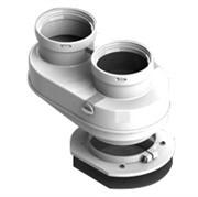SCA-8080-240002 STOUT DN80/80 адаптер для подкл. разд. труб (совместимый Bosch (фланец ) PP-Ryton