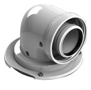 конденсац. адаптер 90° DN60/100 м/п PP-AL с фланцем (совместим. с Bosch)