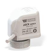 Термоэлектрический сервопривод Watts, 22CX230NC2, 230 В, нормально закрытый, M30X1,5