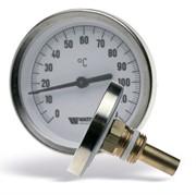 10005802(03.01.043) Watts F+R801(TSD) 63/50 Термометр биметаллический с погружной гильзой, с самоуплотнением