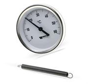 10006505(03.08.080) Watts FR810(ТАВ) 80/120 Термометр биметаллический накладной