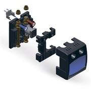 Насосный модуль без смесителя HK25-KH с насосом Wilo RS 25/6-3, кранами до и после насоса, высокотемпературный