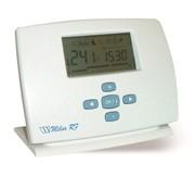 """Термостат комнатный (радио) недельный Milux-RF с ЖК-дисплеем (5-35""""С), питание от AA, P02231"""