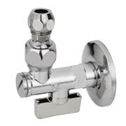 Кран 10х1/2' шаровой с фильтром MINNESOTA с шарнирным соединен. для смесителя с трубками, серия 875
