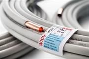 KME Труба медь в оплетке ф10х1,0ммх25м KME WICU (Германия) 7042135