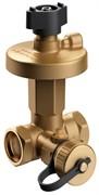 Клапан балансировочный Broen DP DN15 автоматический резьбовой PN 25 перепад давления 0,05-0,25 бар в комплекте с импульсной трубкой и дренажным краном,артикул 43550010-021003 [43550010-021003] 588050