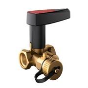 Клапан ручной запорный Broen Basic DN20 с дренажем резьбовой PN 25 Kvs=4,65 м3/ч,артикул 44490000-001003 [44490000-001003] 594764