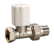 10222100 Luxor tekna RD 01 1/2'' вентиль радиатора отопления регулирующий линейный для стальных труб