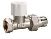 10262100 Luxor tekna DD 21 1/2'' вентиль радиатора отопления линейный для стальных труб