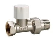 10262700 Luxor tekna DD 21 3/4'' вентиль радиатора отопления линейный для стальных труб