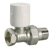 11222100 Luxor easy RD 101 1/2'' вентиль радиатора отопления регулирующий линейный для стальных труб