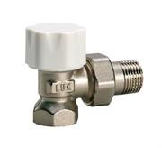 12022100 Luxor thermo tekna RS 202 1/2'' вентиль радиатора отопления угловой термостатический для стальных труб