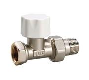 12222100 Luxor thermo tekna RD 201 1/2'' вентиль радиатора отопления линейный термостатический для стальных труб