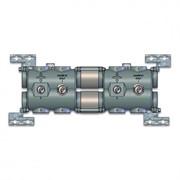 68744251 Luxor CD 1210 1 1/2 x 1 1/4 Модульный коллектор с соединениями для групп G1 1/4, с клапаном байпаса и балансировочными клапанами