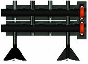 Напольный коллектор на 2 контура, PN 10, мощность 1150 Квт