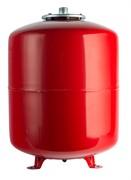 Расширительный бак на отопление 80 л. (цвет красный)