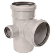 SINIKON Крестовина для щумопоглащающей канализации двухплоскостная, левая 87° D 110xD 110xD 50
