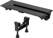 VIEGA Торцевая заглушка для лотков Viega Advantix Vario монтажной высотой 70-95мм, пластик/черный ( 721695 )