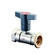"""Кран шаровой Optibal P, Ду 32, Rp 1 1/4"""" x G 2"""", с обратным клапаном 1078172"""