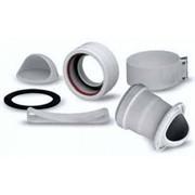 Переходной комплект для забора воздуха и отвода продуктов сгорания по раздельным трубам (MAIN) ( BAXI KHG714074810 )