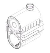 Основной теплообменник Baxi LUNA HT residential 1,1000 ( BAXI 626910 )
