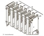 Основной теплообменник котла Slim 1.300 IN ( BAXI 3611680 )
