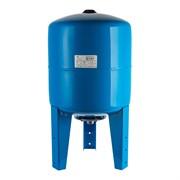 Расширительный бак, гидроаккумулятор 100 л. вертикальный (цвет синий)
