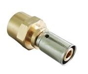 Прессовое соединение с внутренней резьбой 26х3,0мм х Rp1