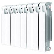 RIFAR MONOLIT 500 10 секций радиатор биметаллический боковое подключение (белый RAL 9016)