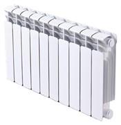 RIFAR BASE 500 8 секций радиатор биметаллический боковое подключение (белый RAL 9016)