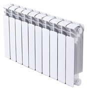 RIFAR BASE VENTIL 500 BVR 6 секций радиатор биметаллический нижнее правое подключение (белый RAL 9016)