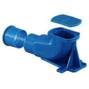Настенная коробка для водорозеток Uponor РЕХ 04056332 и 1008823. Пластик. Межц. расст. 35 мм. Для кожуха 25/20 и 28/23 мм.