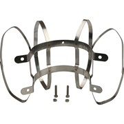 фиксатор c распорками для соединений PP-труб O80 . нержавеющая сталь.