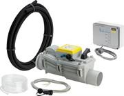 Канализационный обратный клапан (2 заслонки) с защитой от затопления ф110