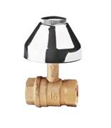 Встраиваемый шаровой кран ITAP 136 3/4 с колпачком
