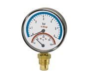 Термоманометр боковое подключение 1/2ITAP ART 484 1/2