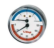 Термоманометр осевое подключение 1/2ITAP ART 485 1/2