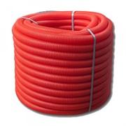 Труба защитная гофрированная UNI-FITT25 красная (для труб 16) 583R2505 бухта 50 метров
