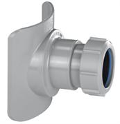 Врезка в трубу110-40 диаметр врезки 57мм McALPINE