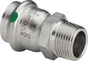 Муфта Viega пресс-Н 22х1' нержавеющая сталь Sanpress Inox SC-Contur ( 436506 )