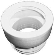 манжет для унитаза, предназначен для пластмассовых и чугунных труб, DN 110 (100)